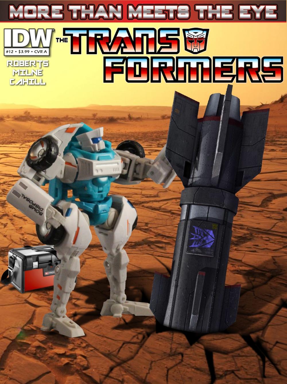 Transformers MTMTE 12 CVR A