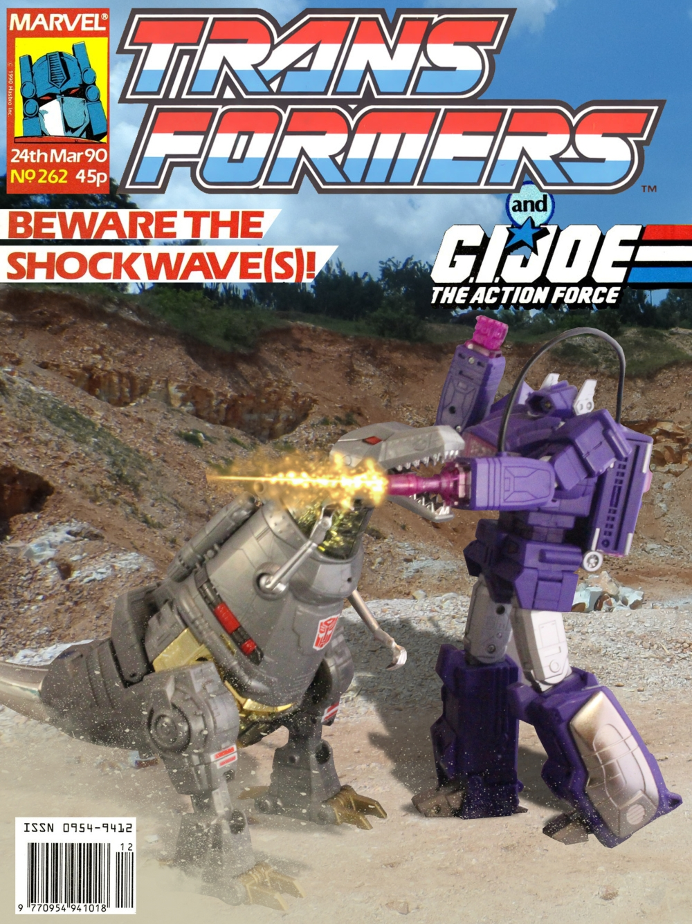 Transformers UK Comic 262 HD