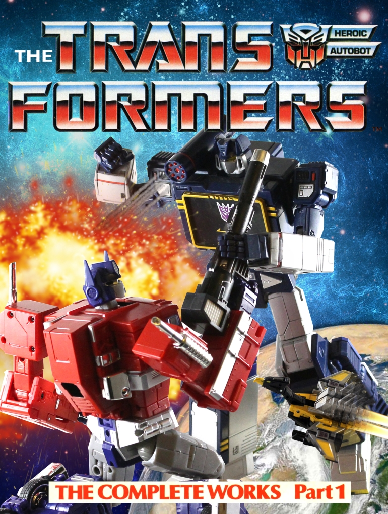 Transformers UK Comic The Complete Works Pt.1 - FULL HD